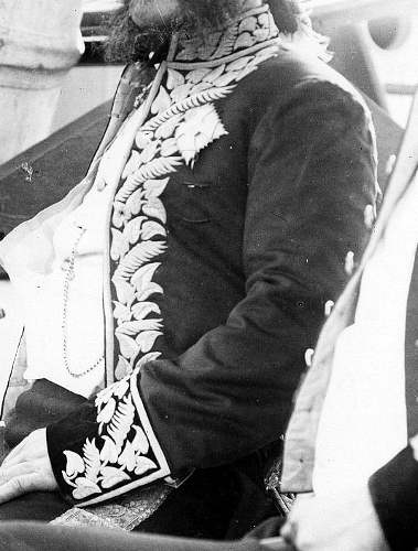 hawaii.Treffen des samoanischen Königs Malietoa Laupepa mit dem hawaiischen Gesandten John E. Bush auf dem hawaiischen Kriegsschiff Kaimiloa, Copyright L. Gonschor1