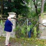 Tor zum jüdischen Friedhof in Bad Rappenau