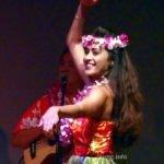 Hawaiierin beim Hulatanz