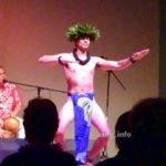 Hawaiier beim Hula-Tanz