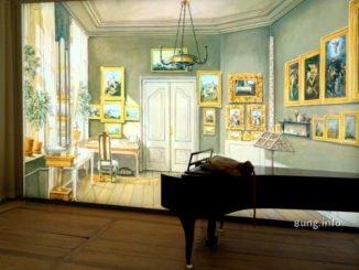Fanny Hensels Musikzimmer im Mendelssohn-Haus in Leipzig