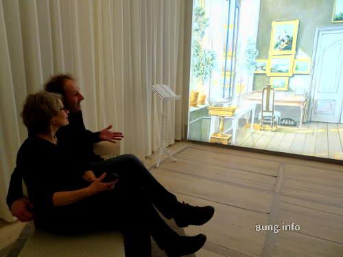 Fanny Mendelssohns Arbeitszimmer, Besucher im Mendelssohn-Haus in Leipzig