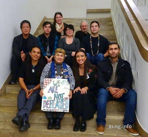 Indianer Inuit , Gäste de Nordamerikanischens Filmfestivals