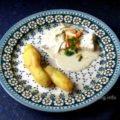 Fisch, Kartoffel mit Sauce