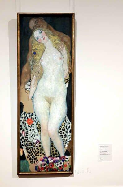 Gemälde von Klimt im Schloss Belvedere in Wien