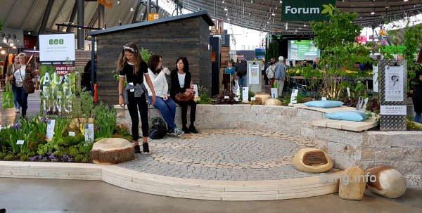 Schaugarten der Gärtner-Azubis