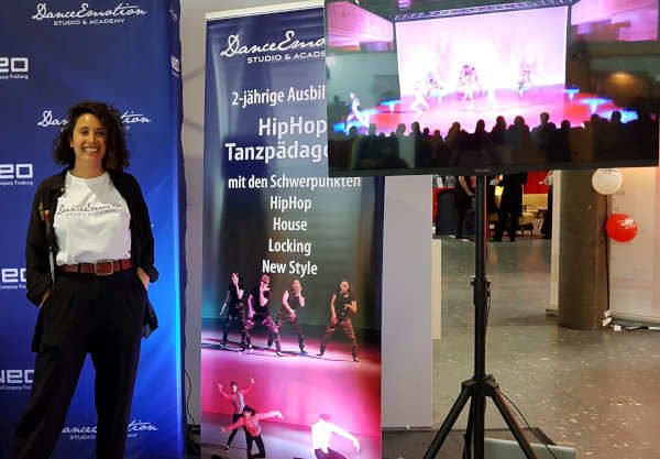 Messestand der DanceEmotion Academy