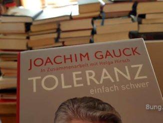 Cover Gauck Toleranz vor Büchern