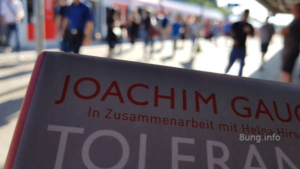 ☛ Buchtipp: Joachim Gauck, Toleranz - einfach schwer | Kulturmagazin 8ung.info