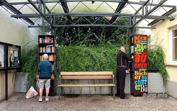 2 offene Bücherschränke in Marburg