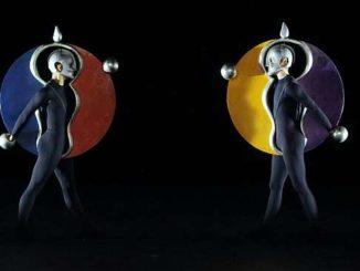 Scheiben aus dem Triadischen Ballett von Oskar Schlemmer