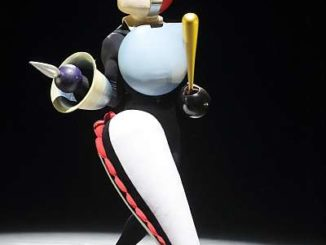 Figur aus dem Triadischen Ballett von Oskar Schlemmer