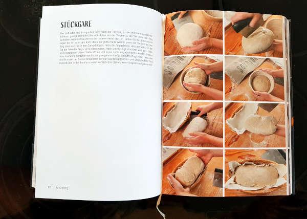 Sauerteig Fotoanleitung im Buch