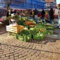 Marktstand in Kirchheim