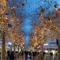 Lichterketten vor Weihnachten