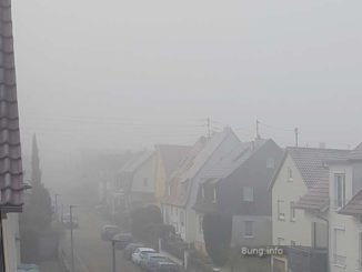 wetterprognose 2020 September: Sstrasse im Nebel