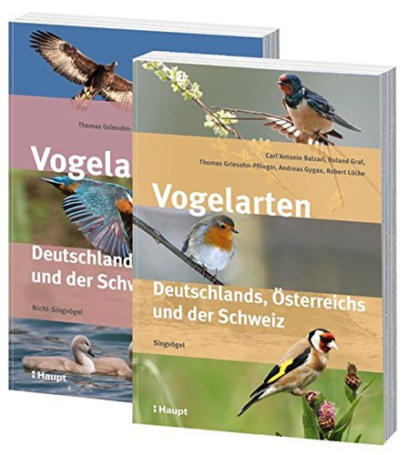 ✍ Neue Bestimmungsbücher: Vogelarten Deutschlands, Österreichs und der Schweiz | Kulturmagazin 8ung.info