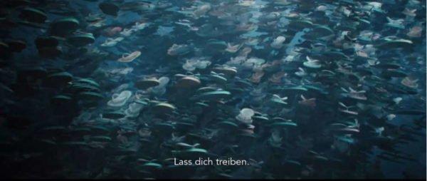 (c)The Beauty - Fischschwärme? Nein,  Badelatschen