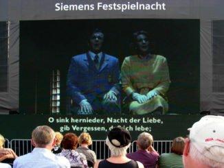 public viewing: Tristan und Isolde