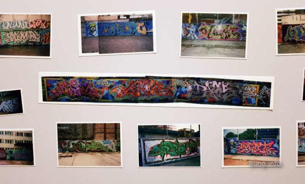 Fotos von Grafit-Wänden