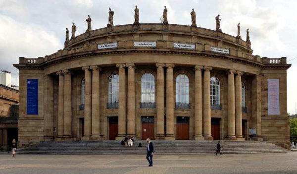 Wetter im Oktober 2020 - Stuttgarter Staatsoper