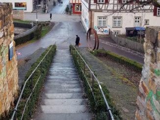 Blick von der Bastion in Kirchheim unter Teck