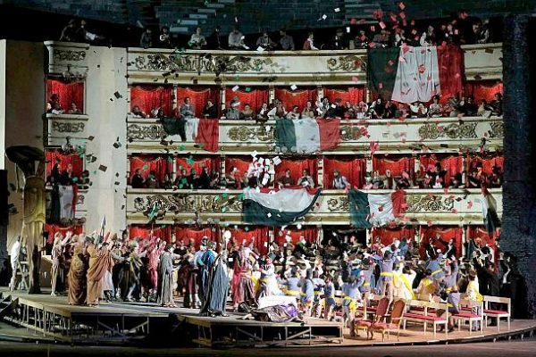 Nabucco in der Arena die Verona 2017 ©Ph Ennevi/ F. Arena di Verona