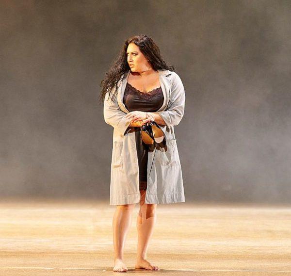 """Carmen aus der Wiener Staatsoper, 2021"": Anita Rachvelishvili (Carmen) © ZDF und ORF/Wiener Staatsoper/Michael Pöhn"