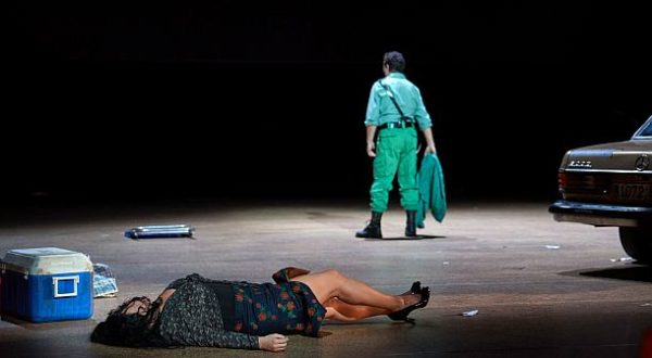 """Carmen aus der Wiener Staatsoper, 2021"": Piotr Beczala (Don José), Anita Rachvelishvili (Carmen) © ZDF und ORF/Wiener Staatsoper/Michael Pöhn"