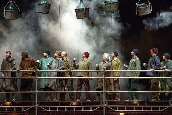 """""""Der Fliegende Holländer"""" - (c) Klaipėda State Music Theatre Litauen, Chor"""