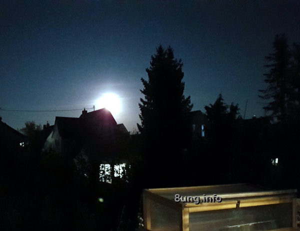 Supervollmond im April 2021