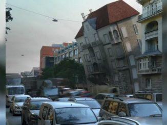 Benztown - ärgerliches Haus, Trickfilm von Gottfried Mentor