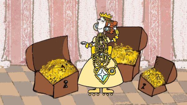 """Trickfilm """"Die Prinzessin und der Bandit"""" von (c) Mikhail Aldashin, Marya Sosnina"""