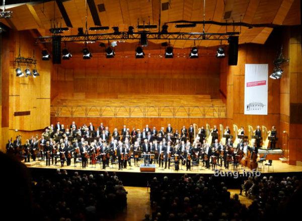 Staatsorchester Stuttgart nach einem Konzert in der Liederhalle