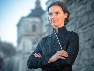 Dirigentin Oksana Lyniv (c) Bayreuther Festspiele/Oleh Pavliuchenkov