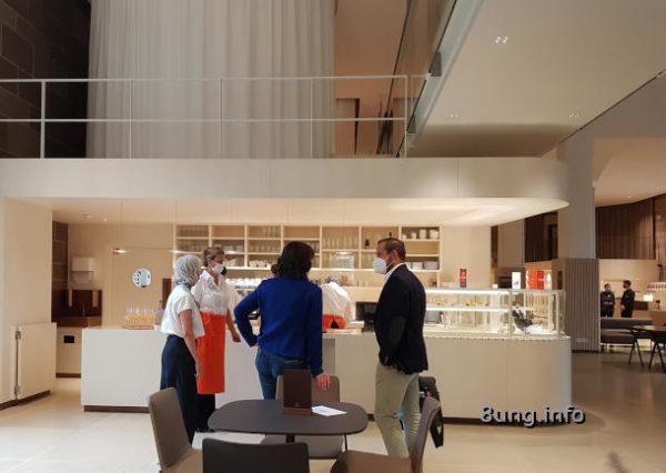 Dürnitz im Landesmuseum Württemberg: Cafétheke