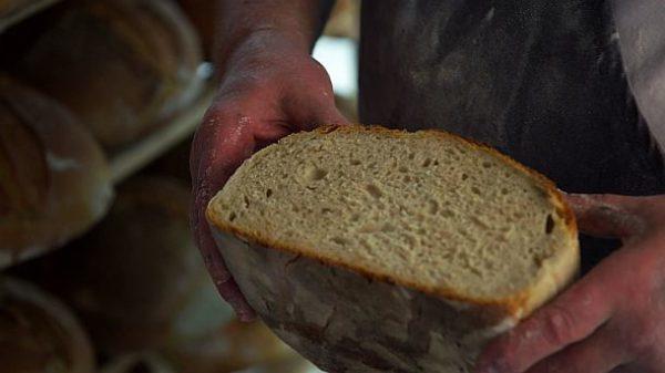 (c) SWR Bäcker prüft sein Brot