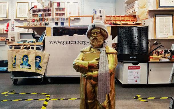 Frankfurter Buchmesse - Gutenberg