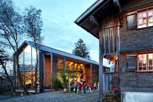 Holzarchitektur im Bregenzerwald © Adolf Bereuter_Bregenzerwald Tourismus-1