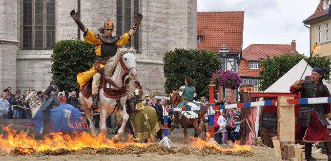 Mittelalterstadtfest-Ritterspiel