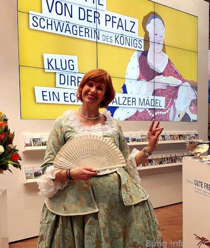Kostümführerin in Weikersheim