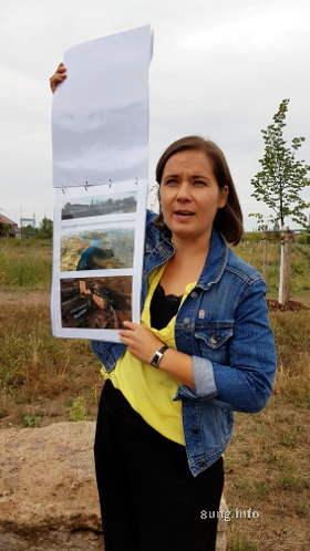 Katrin Hitschfeld zeigt ihre Pläne