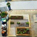 fertiger Garten auf der Gartenmesse