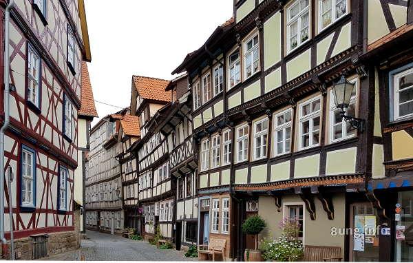 Fachwerkhäuser in Hann. Münden