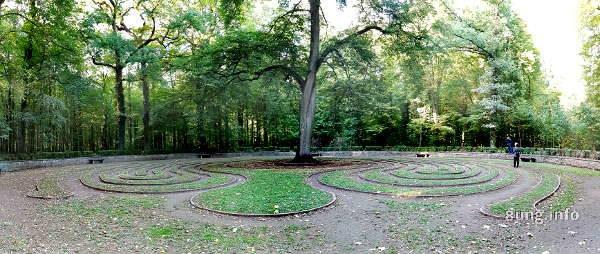 Rasenlabyrinth in der Eilenriede
