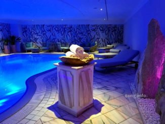 Pool im Hotel rosenpark