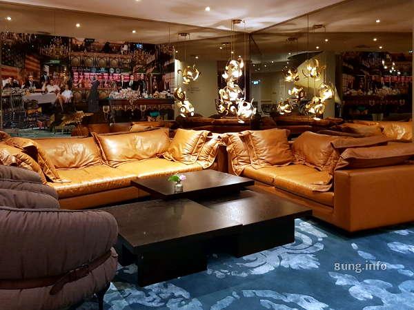 Sitzecke im Hotel Rosenpark