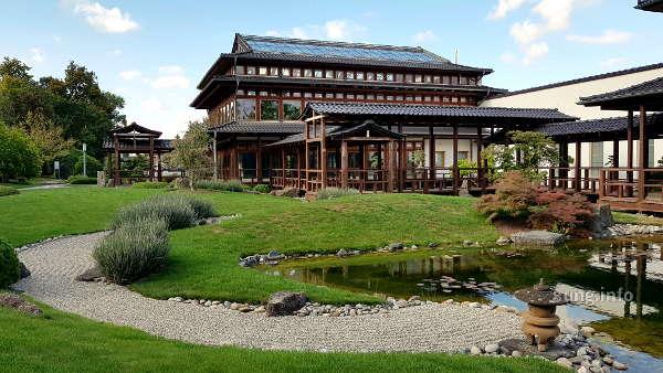 Japangarten mit Haus in Bad Langensalza