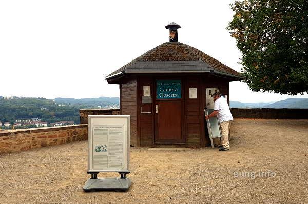 Camera Obscura in Marburg - Blick von außen