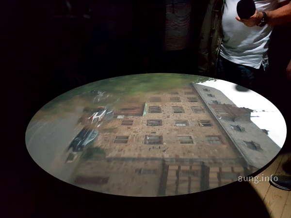 Camera Obscura in Marburg - Schloss